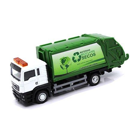 Caminhão de Lixo Man TGS 1/64 California Junior Truck
