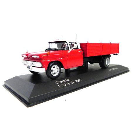 Caminhão Chevrolet C 30 Truck 1961 1/43 Whitebox