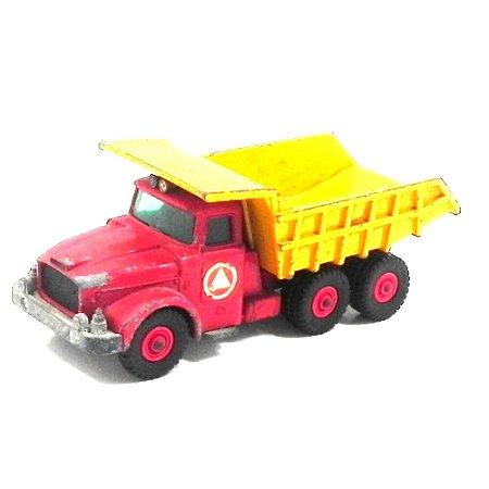 Caminhão Caçamba Scammell Contractor N°K-19 1/64 Matchbox