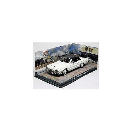 Ford Thunderbird 1/43 IXO –  007 James Bond  Contra Goldfinger