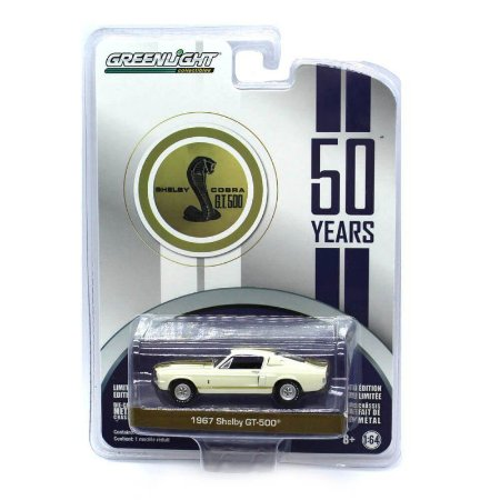 Ford Shelby Cobra GT500 1967 1/64 Greenlight