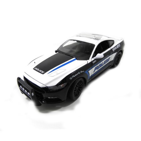 Ford Mustang Gt 2015 Policia 1/18 Maisto Premiere Edition
