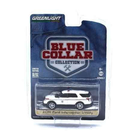 Ford Interceptor Utility 2014 Blue Collar Serie 2 1/64 Greenlight