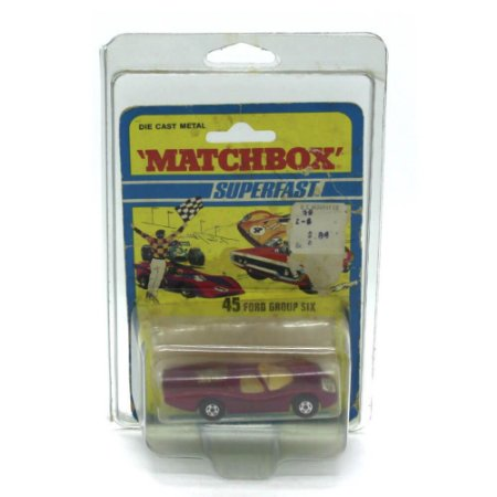 Ford Group Six Superfast N 45 1971 1/64 Matchbox