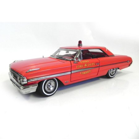 Ford Galaxie 500 Carmel Fire Dept. 1964 1/18 Sun Star