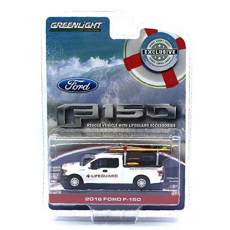 Ford F150 2016 Salva Vidas 1/64 Greenlight