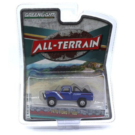 Ford F100 1970 All-Terrain Serie 5 1/64 Greenlight