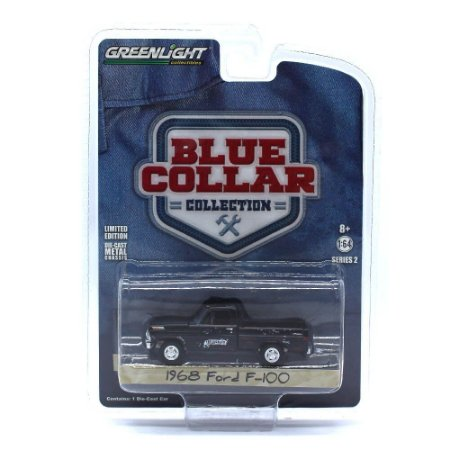 Ford F100 1968 Blue Collar Serie 2 1/64 Greenlight