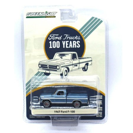 Ford F100 1967 100 Anos 1/64 Greenlight