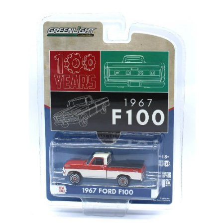 Ford F100 1967 1/64 Greenlight