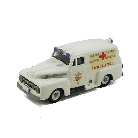 Ford F1 Ambulância 1952 1/43 Brooklin Models