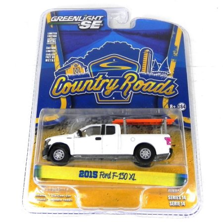Ford F-150 XL Country Roads Série 14 2015 1/64 Greenlight
