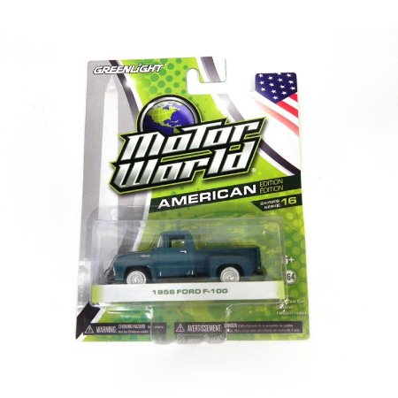 Ford F-100 1956 1/64 Greenlight – Motor World Série 16