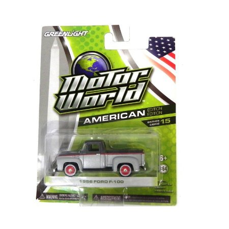 Ford F-100 1956 1/64 Greenlight Motor World Série 15