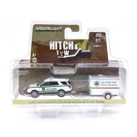 Ford Explorer 2015 NYC Parks 1/64 Greenlight