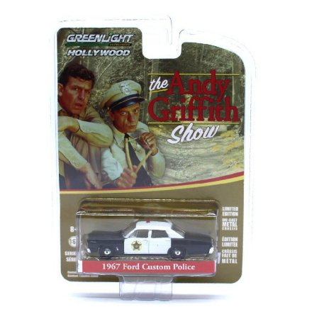 Ford Custom 1967 Policia The Andy Griffith Show 1/64 Greenlight