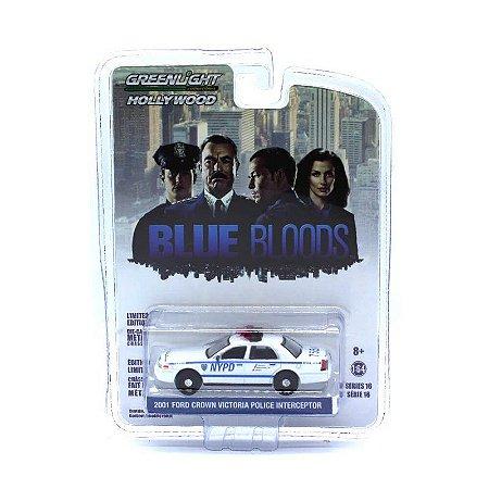 Ford Crown Victoria Interceptor Blue Bloods 1/64 Greenlight