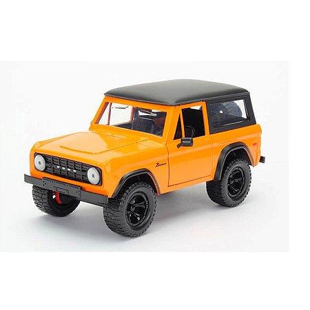 Ford Bronco 1973 Laranja Just Trucks 1/24 Jada Toys