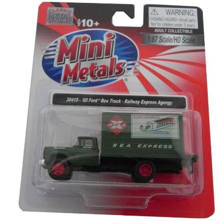 Ford Box Truck R Expess A 1960 1/87 Classic Metal Works