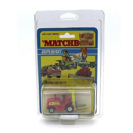 Empilhadeira Fork Lift Superfast N 15 1971 1/64 Matchbox