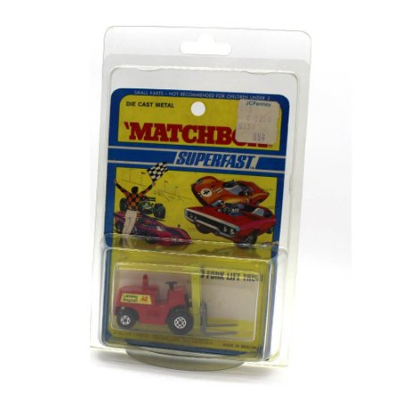 Empilhadeira Fork Lift Superfast 15 1971 1/64 Matchbox