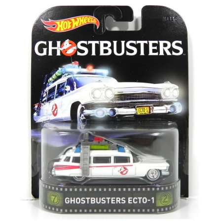 Ecto 1 Os Caça Fantasmas 1/64 Hot Wheels