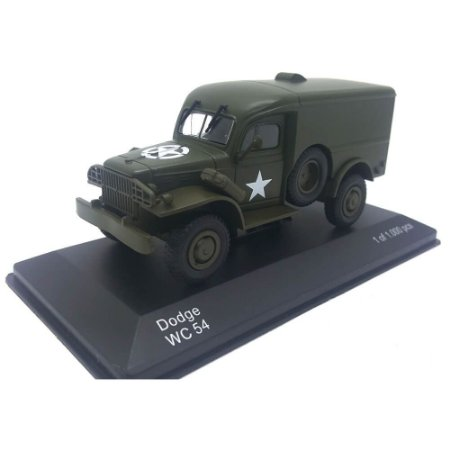Dodge WC 54 Militar 1942 Verde 1/43 Whitebox