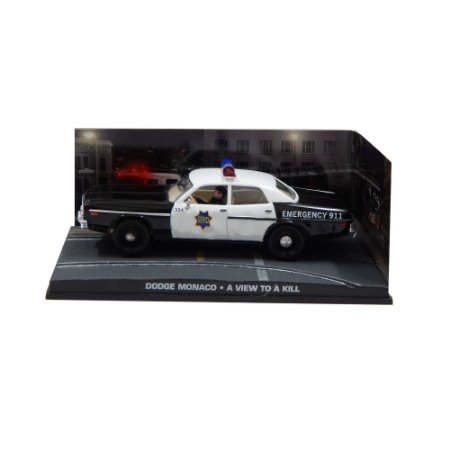 Dodge Monaco Polícia 1/43 IXO –  007 James Bond  Na mira dos assassinos
