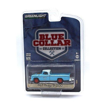 Dodge D200 1967 Blue Collar Serie 2 1/64 Greenlight