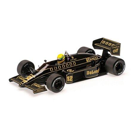 Lotus Renault 98T Ayrton Senna 1986 1/18 Minichamps