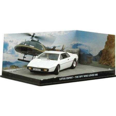 Lotus Espirit 1/43 IXO –  007 James Bond  O espião que me amava
