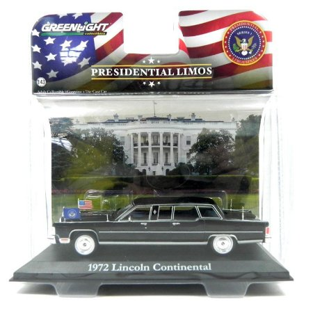 Lincoln Continental Presidente Ronald Reagan 1972 1/43 Greenlight