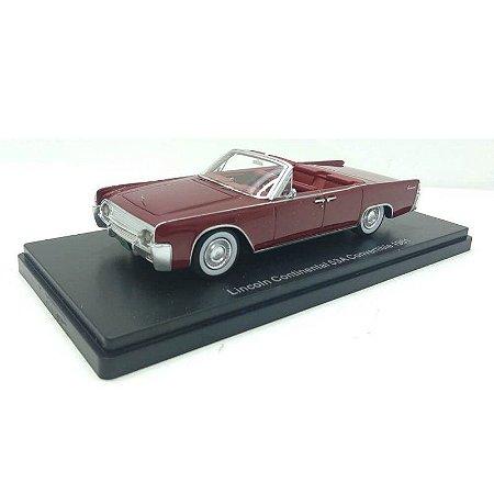 Lincoln Continental 53A Conversível 1961 1/43 Neo