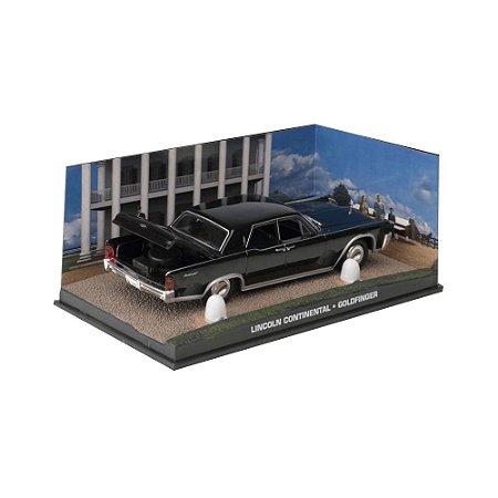 Lincoln Continental 1/43 IXO –  007 James Bond  Contra Goldfinger