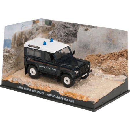 Land Rover Defender 1/43 IXO –  007 James Bond  Quantum of solace
