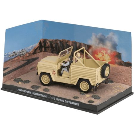 Land Rover 1/43 IXO –  007 James Bond  Marcado para a morte