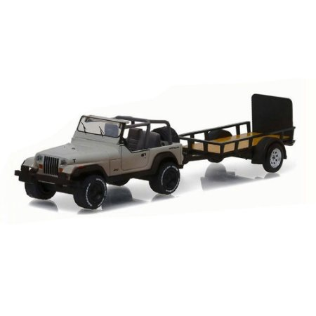 Jeep Wrangler YJ Michonne The Walking Dead 1/64 Greenlight