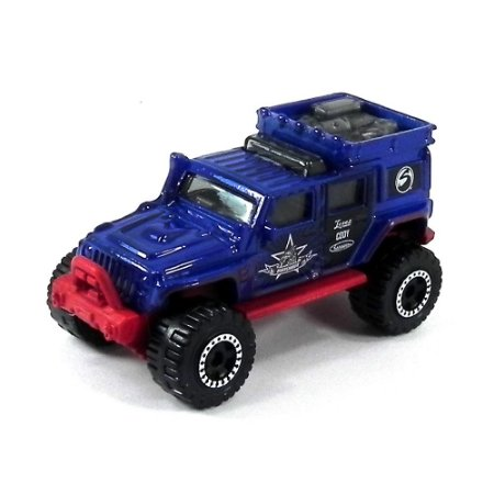 Jeep Wrangler Superlift 1/64 Matchbox