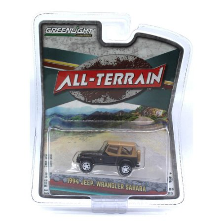Jeep Wrangler Sahara 1994 All-Terrain Serie 5 1/64 Greenlight