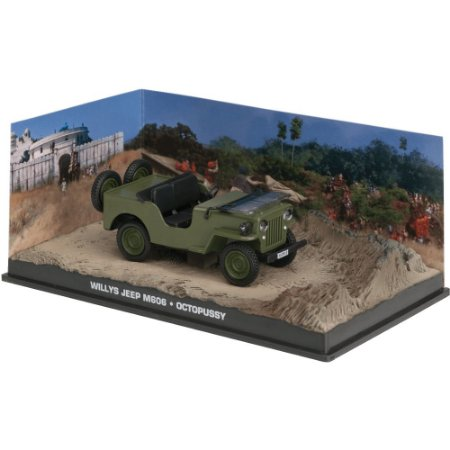 Jeep Willys M606 1/43 IXO –  007 James Bond  Contra Octopussy