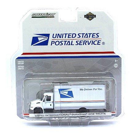 International Durastar Box USPS HD Trucks 9 1/64 Greenlight