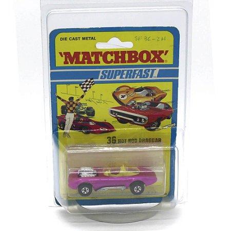 Hot Rod Draguar Superfast N 36 1971 1/64 Matchbox