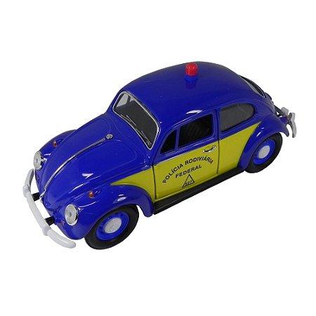 Volkswagen Fusca Polícia Rodoviária-BR 1967 1/24 California Collectibles