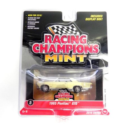 Pontiac Gto 1965 1/64 Johnny Lightning Racing Champions Mint