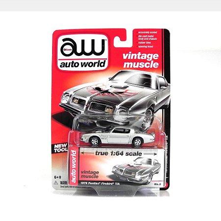 Pontiac Firebird 1975 1/64 Auto World