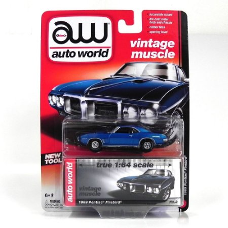 Pontiac Firebird 1969 1/64 Auto World