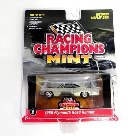 Plymouth Road Runner 1968 1/64 Johnny Lightning Racing Champions