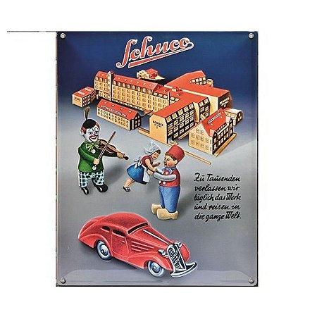 Placa Blechschild Edition #2 Schuco Fabrik Schuco