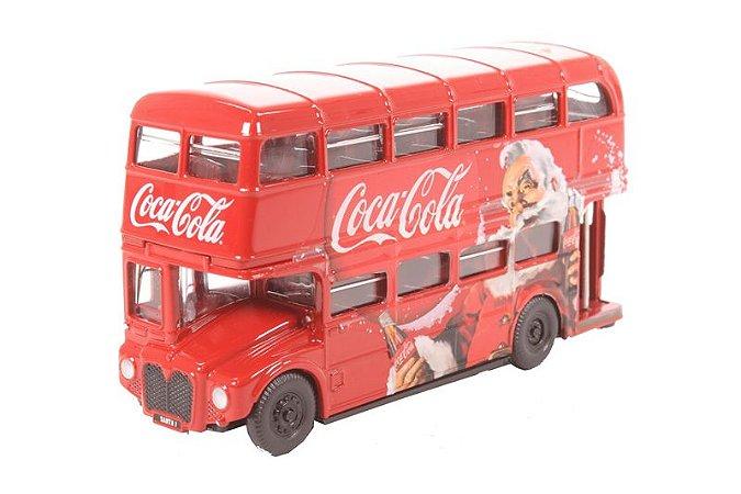 Ônibus Routemaster Coca Cola Natal 1/76 Oxford