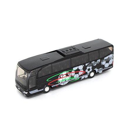 Ônibus Mercedes Benz Travego Com Fricção 1/60 Welly